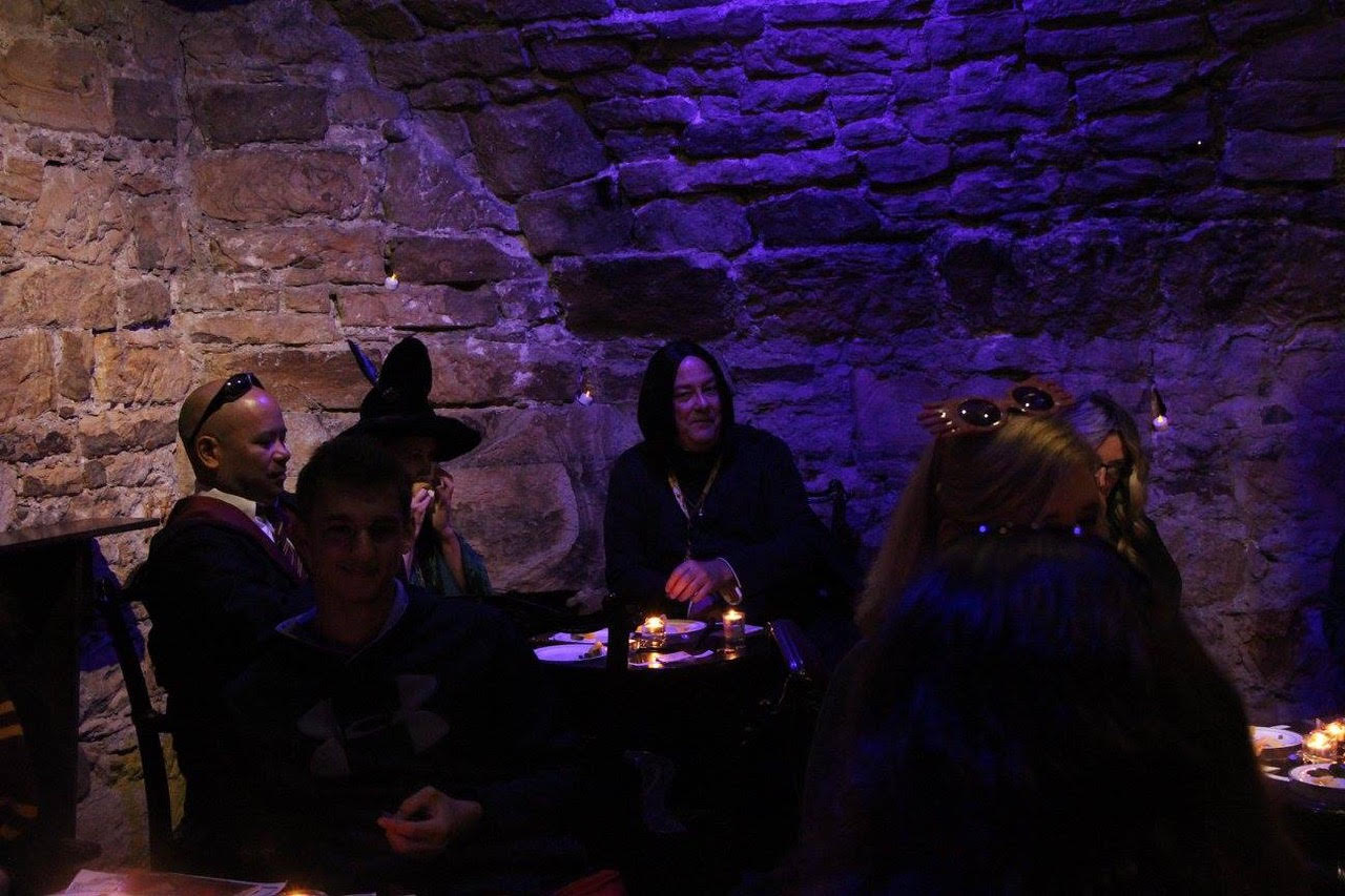 Potions class at Lumley Castle