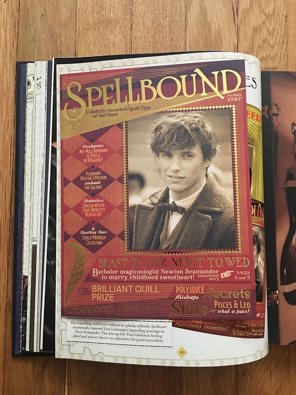 """""""Spellbound"""" tabloid"""
