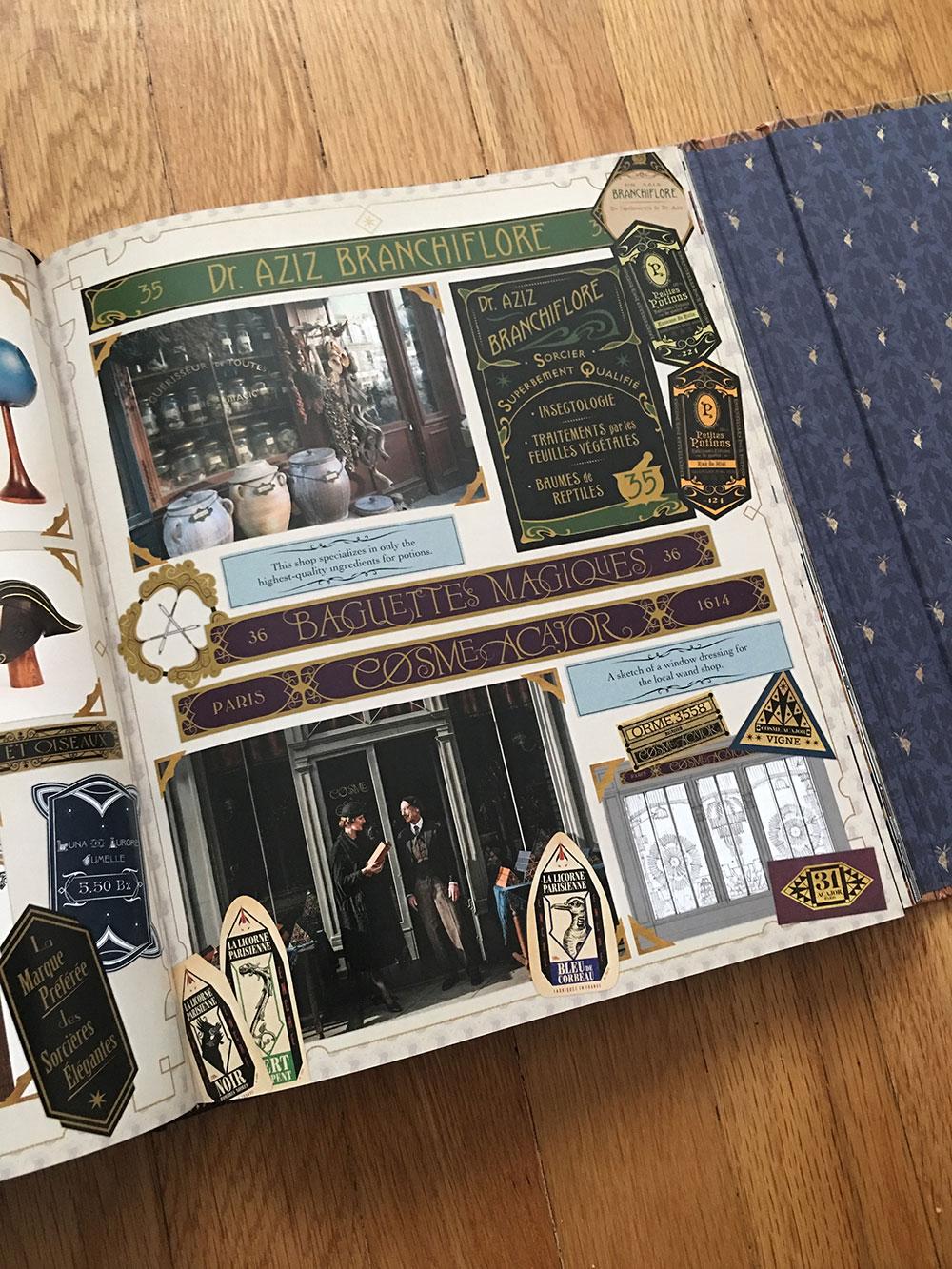 Details of wizarding Paris