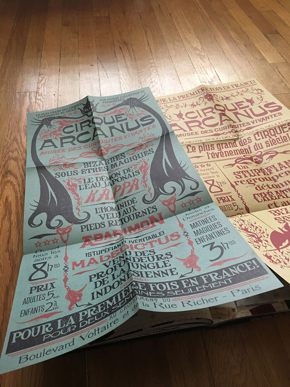 Circus Arcanus poster reproductions