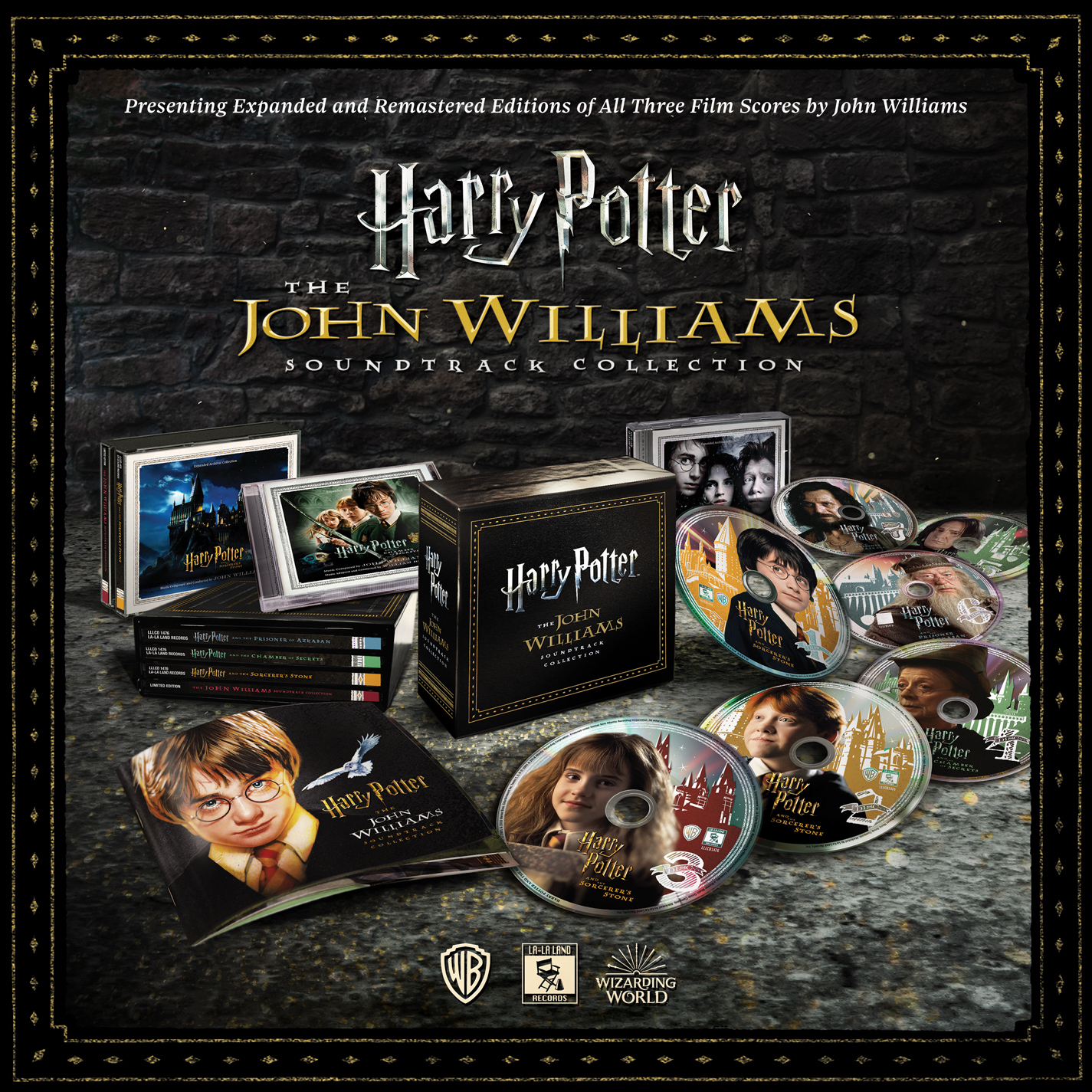 """""""Harry Potter: The John Williams Soundtrack Collection"""" set"""