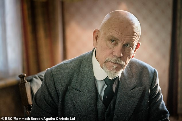 """""""The ABC Murders"""" stars John Malkovich as Hercule Poirot, a detective who is tracking down a serial killer."""