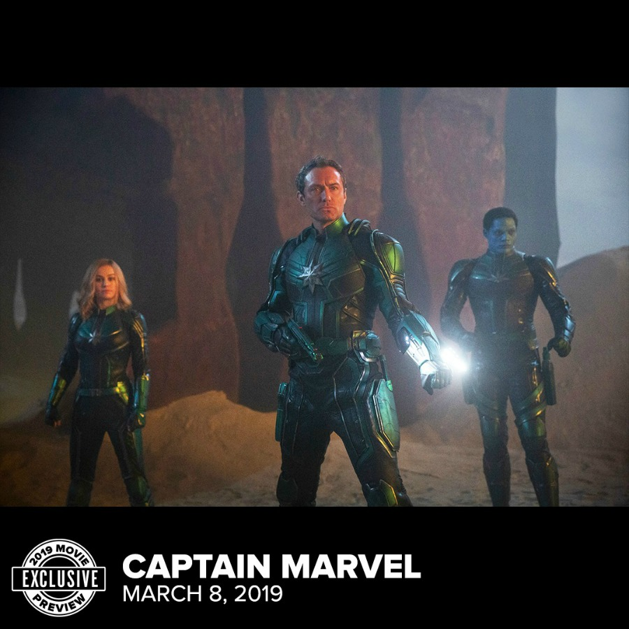 "Jude Law ""Captain Marvel"" Fandango 2019 Movie Preview Image"