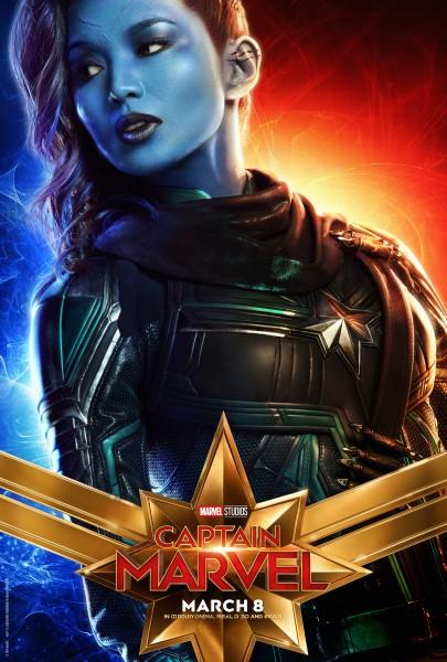 Gemma Chan Captain Marvel Minn Erva