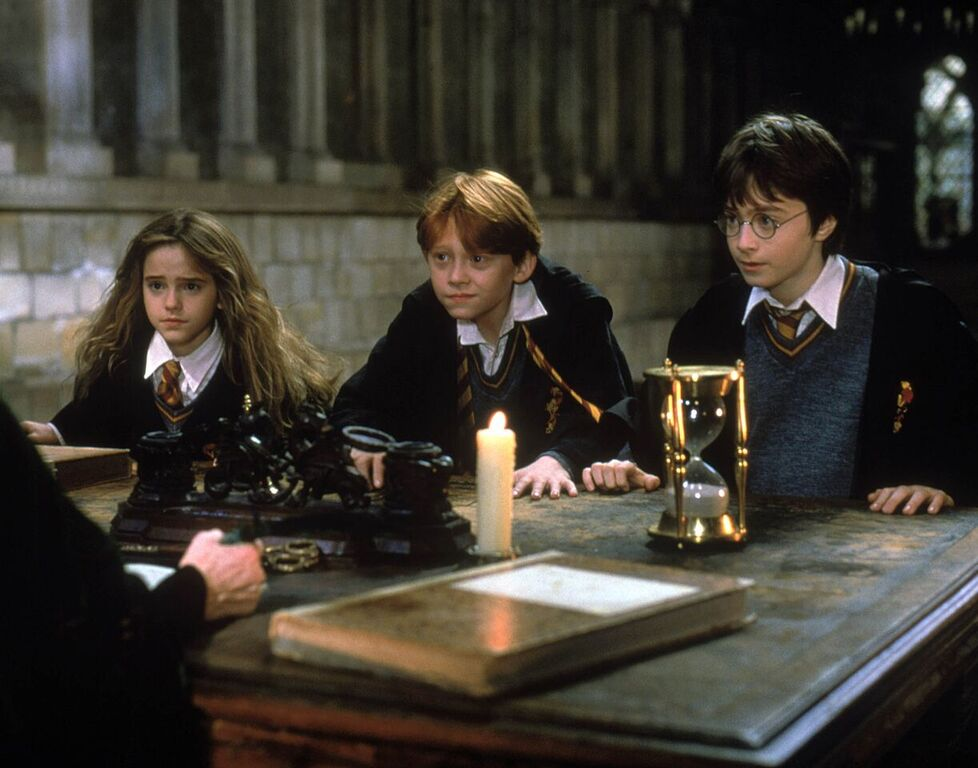 Harry, Ron, and Hermione warn Professor McGonagall of their suspicions.