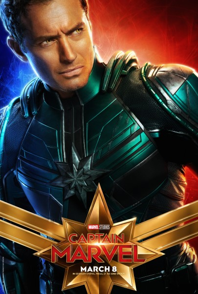 Jude Law Captain Marvel Film Poster