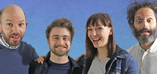 Daniel Radcliffe and Erin Dark on HDTGM