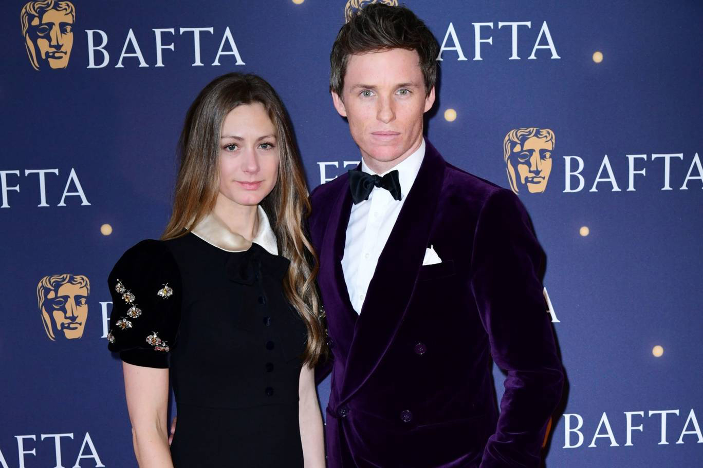 Eddie Redmayne with wife Hannah Bagshawe at the BAFTA Film Gala