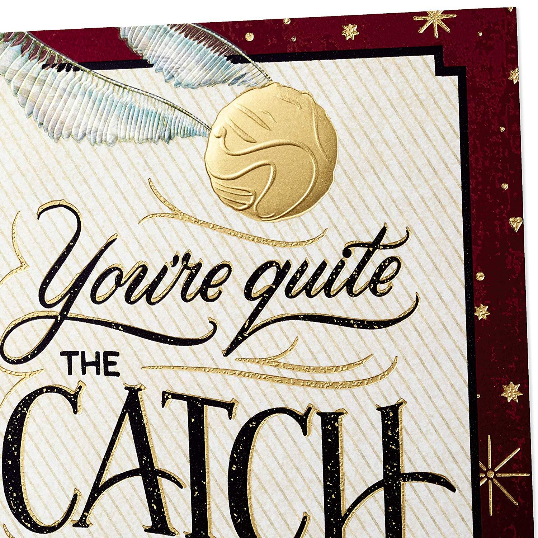Quidditch Hallmark card detail