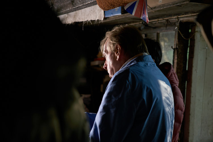 "Timothy Spall ""This Time Away"" film still 2"