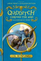 """The cover of the dyslexia-friendly edition of """"Quidditch Through the Ages"""""""