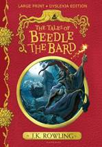 """The cover of the dyslexia-friendly edition of """"The Tales of Beadle the Bard"""""""