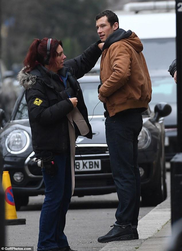 "Callum Turner as Shaun Emory in ""The Capture"""