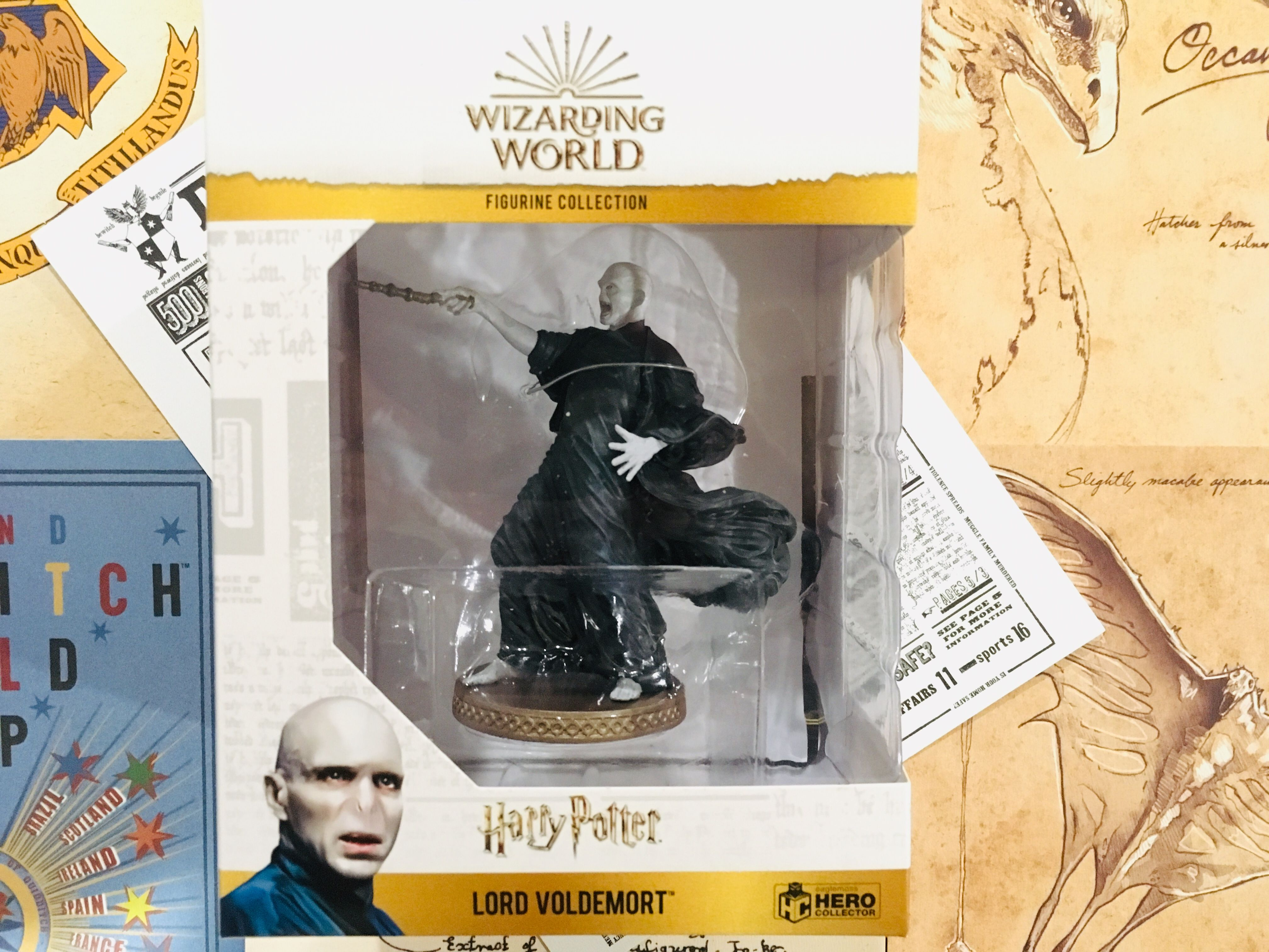 Voldemort is carefully packaged in a collectible box to ensure safety during delivery as well as for maximum display capabilities.