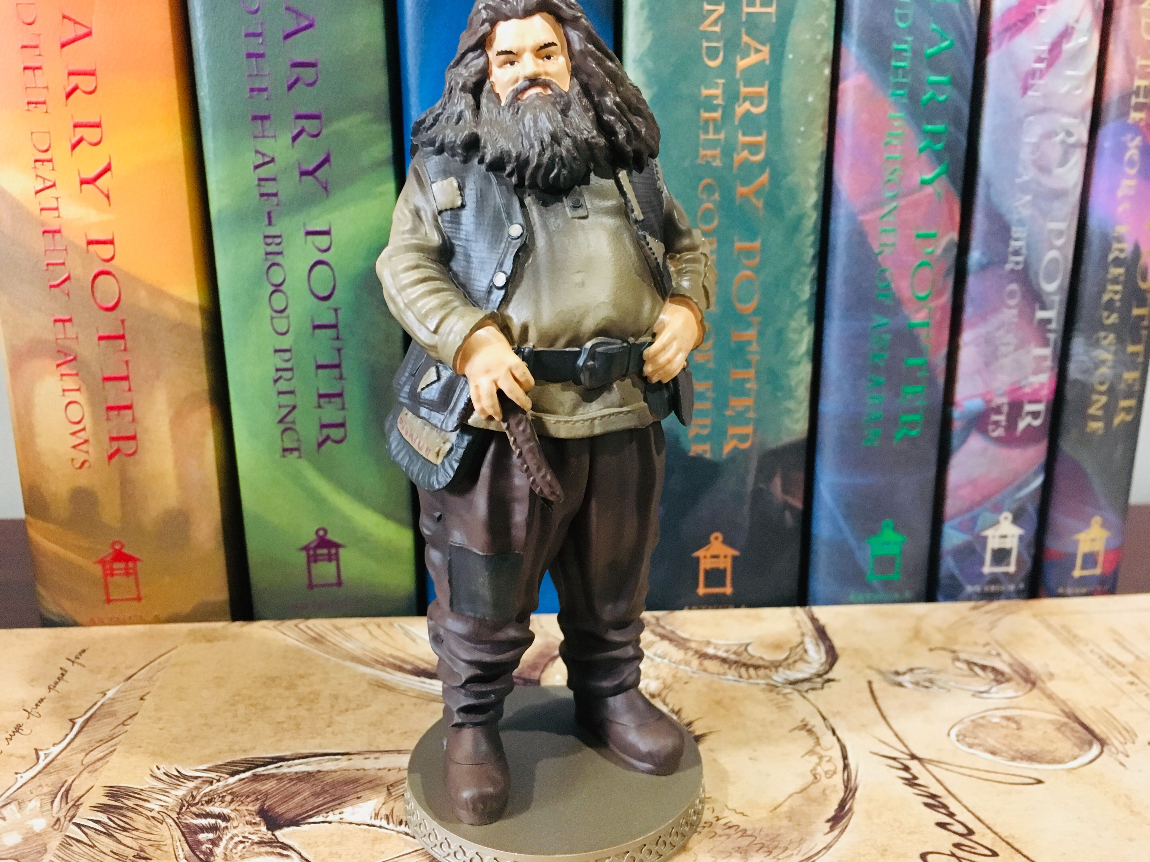 The Eaglemoss Hagrid figurine is beautiful and truly captures even the smallest details in Hagrid's customary outfit.