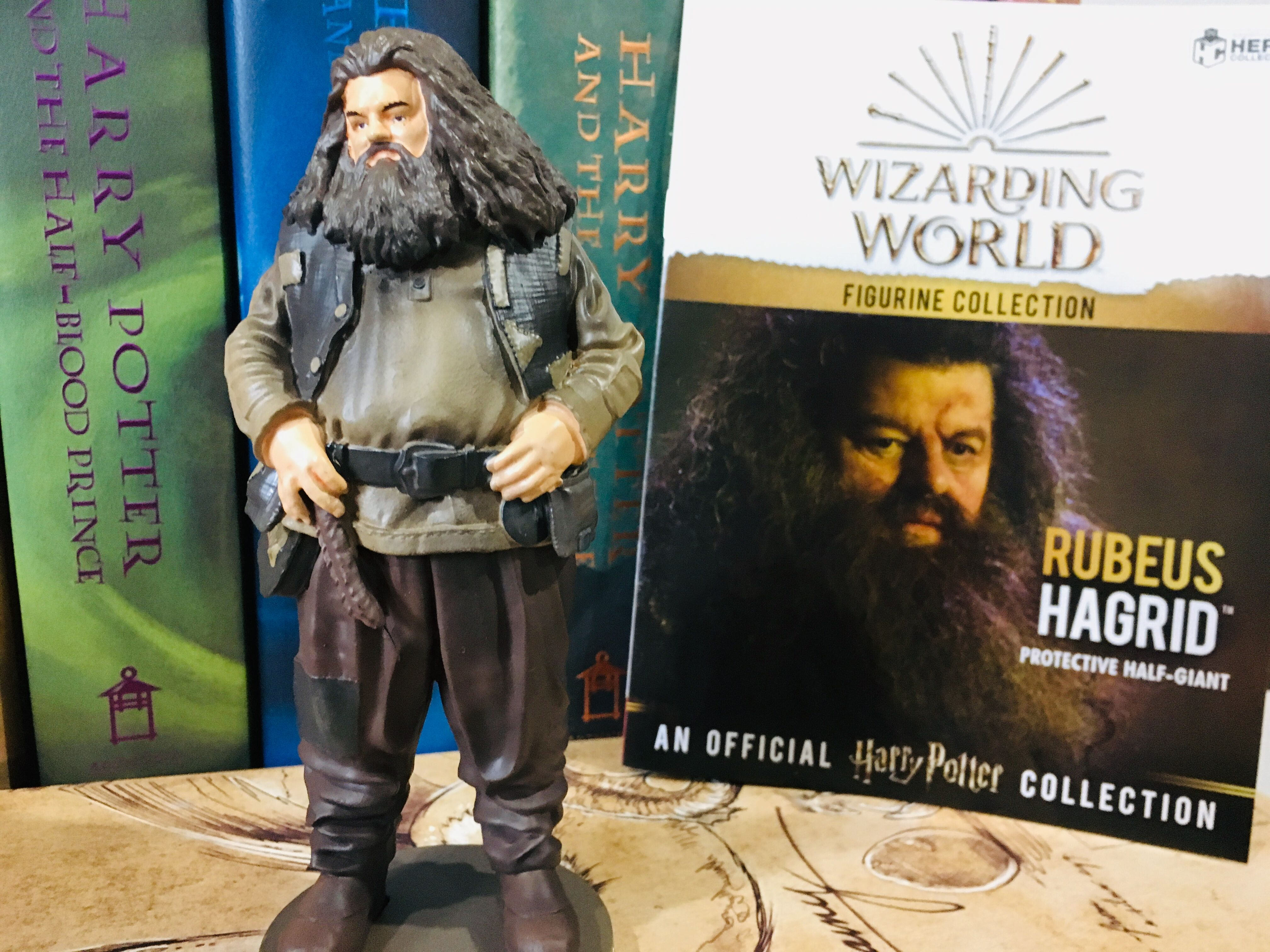 This figurine comes with an exclusive booklet full of information that tells you all about your new wizarding world figurine.