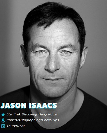Jason Isaacs Emerald City Comic Con 2019