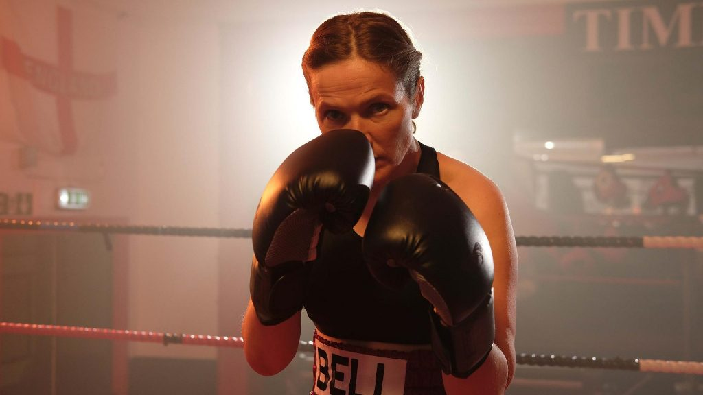 "Jessica Hynes puts up her dukes in ""The Fight""."