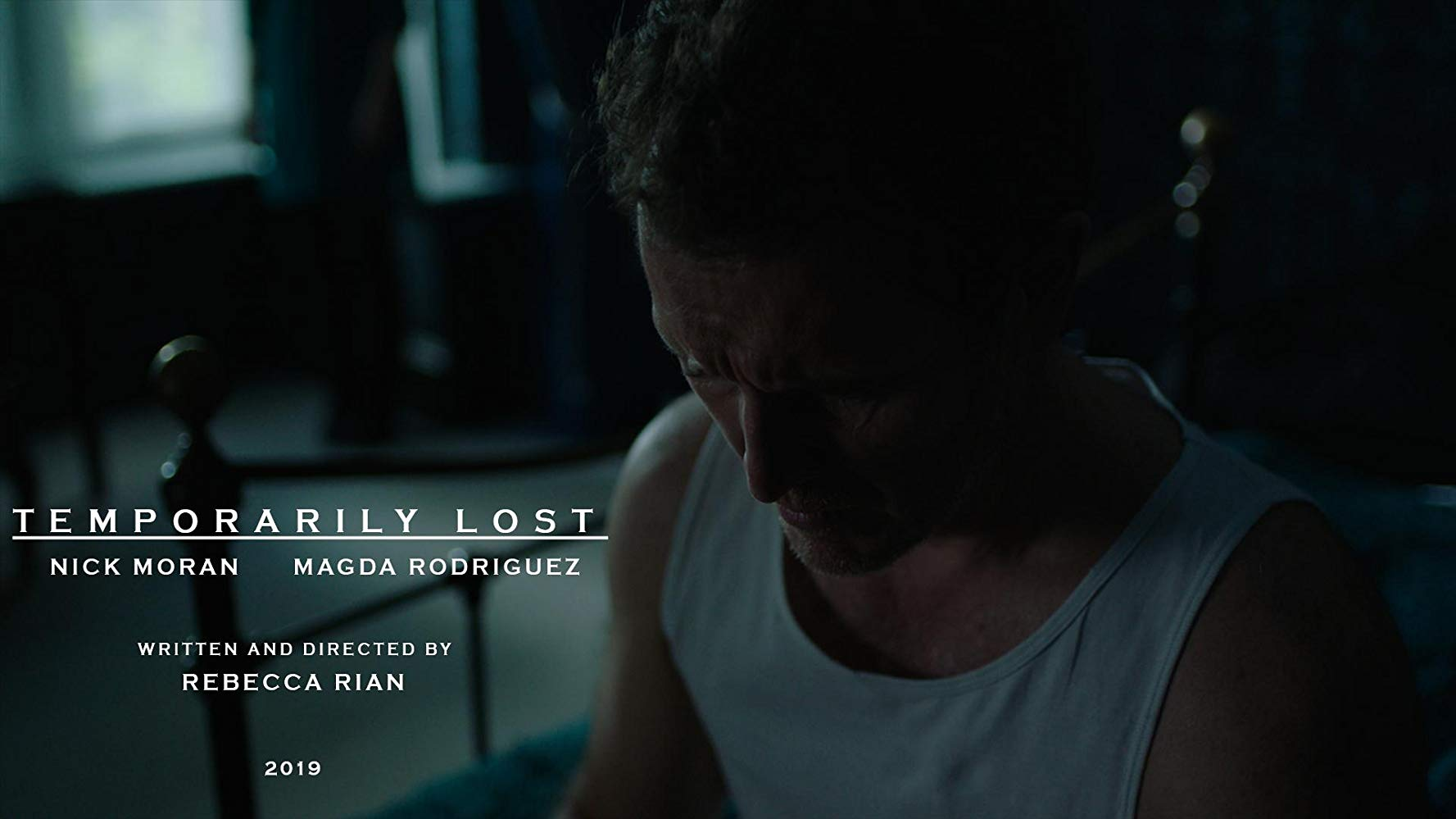 "Nick Moran is seen in a film still from his upcoming short ""Temporarily Lost""."