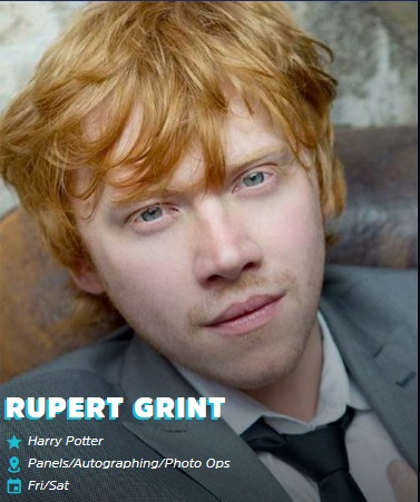Rupert Grint Emerald City Comic Con 2019
