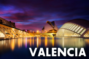 Valencia, Spain, where a Harry Potter Exhibition was previously held, is pictured.