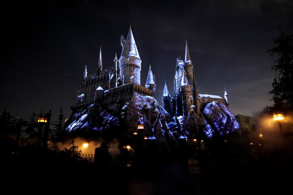 """Dark Arts at Hogwarts Castle"" is bigger than any past projection show in the Wizarding World of Harry Potter."