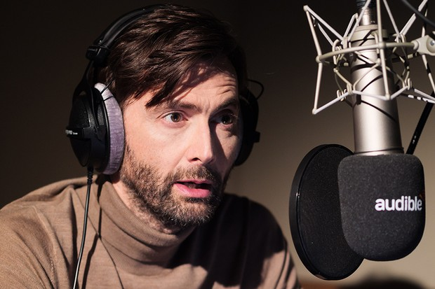 """David Tennant records a portion of """"The War of the Worlds"""" for Audible."""