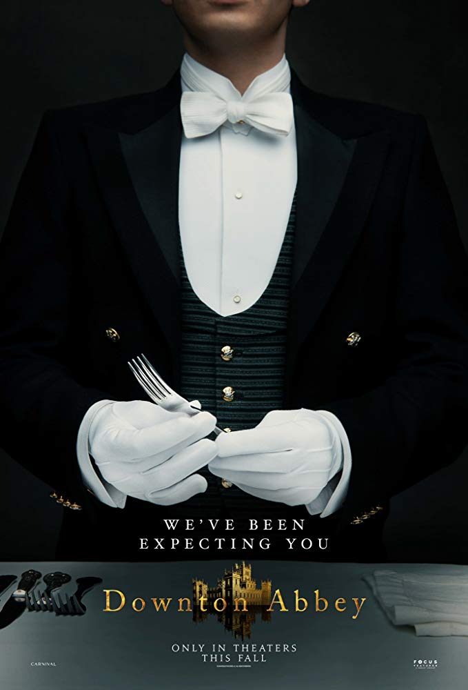 """""""Downton Abbey"""" movie poster featuring Michael Fox (Andy)"""