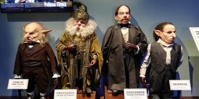 Gringotts opening at Warner Bros Studio Tour – Goblin costumes