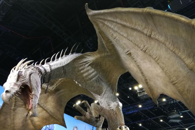 Gringotts opening at Warner Bros Studio Tour – Hanging Gringotts dragon