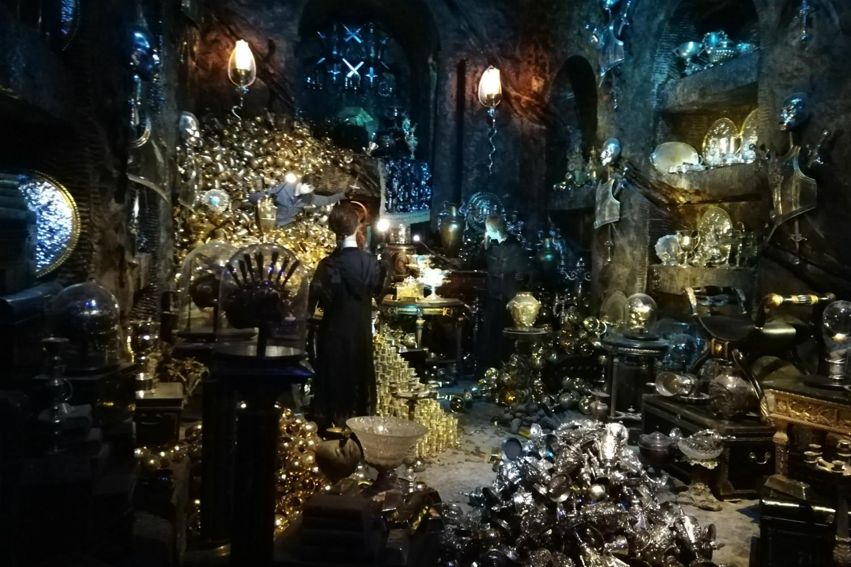 Gringotts opening at Warner Bros Studio Tour – Lestrange family vault
