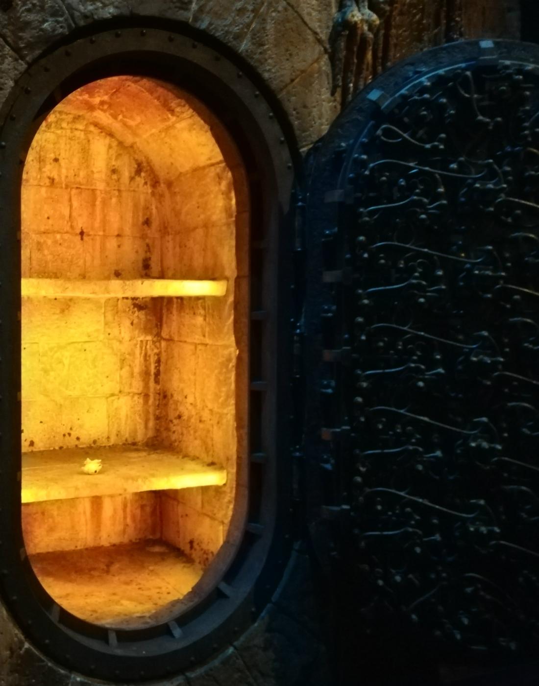 Gringotts opening at Warner Bros Studio Tour – Vault 713 with the Sorcerer's Stone