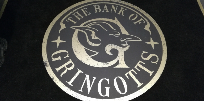 Gringotts opening at Warner Bros Studio Tour – Gringotts seal