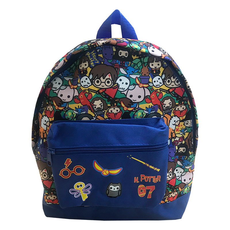 Harry Potter Backpack from Cool Clobber featuring Chibi Charm Harry Potter characters from the film