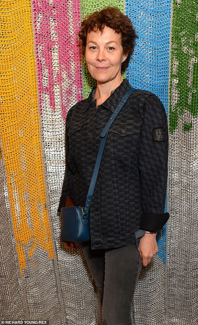 Helen McCrory poses for a photo at the Bottletop campaign launch in London.