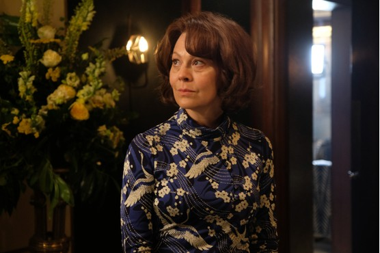 """Helen McCrory in her role as Richard Gere's character's ex-wife in """"MotherFatherSon"""""""