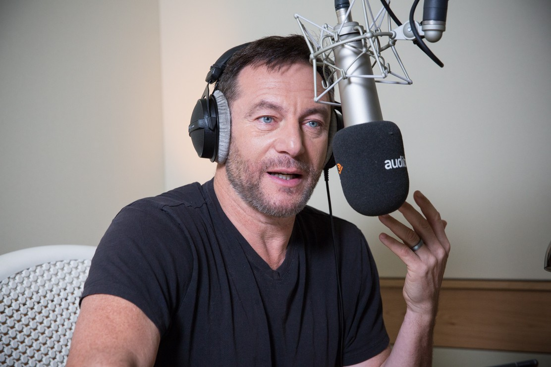 """Jason Isaacs records H.G. Wells' """"The Island of Doctor Moreau"""" for Audible."""