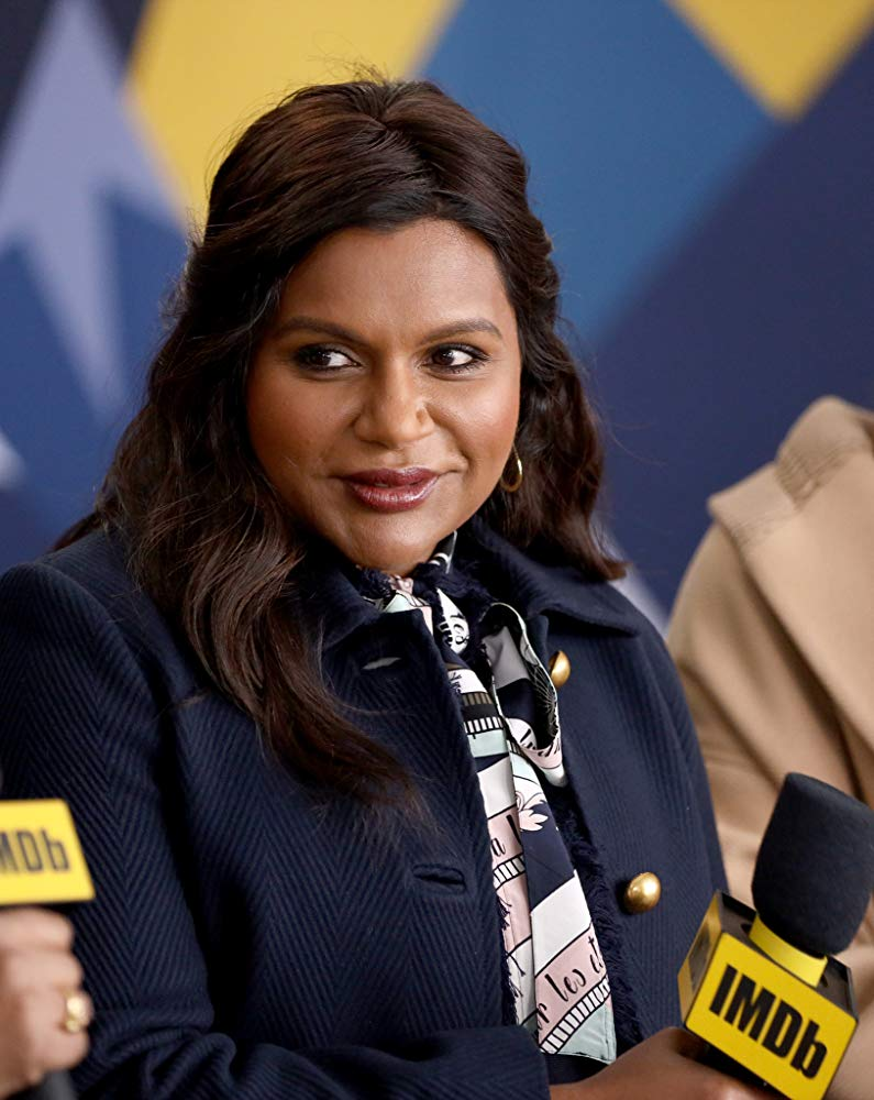 """Late Night"" writer and costar Mindy Kaling speaks during the Sundance Film Festival in Utah."