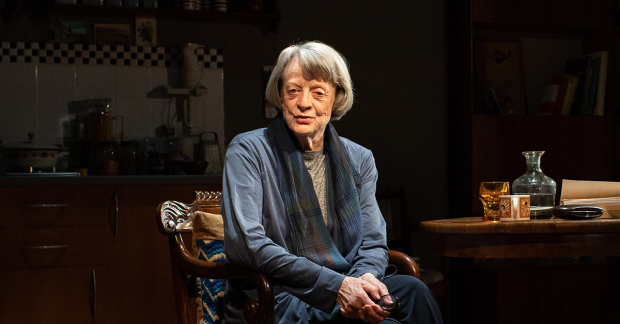 "Dame Maggie Smith acts in ""A German Life""."