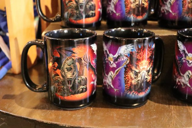 These magical mugs will liven up your morning coffee with creatures such as Buckbeak and Fawkes featured on the front.