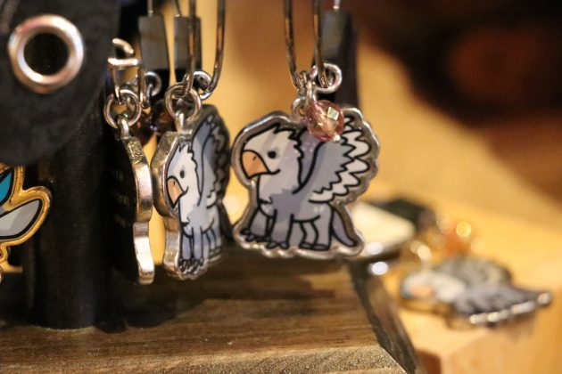Wouldn't you love a piece of jewelry featuring a tiny Buckbeak?
