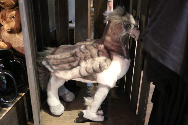 For those of you who wished to have your own hippogriff, perhaps this plush is the next best thing!