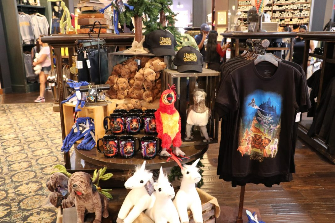 Brand-new Hagrid's Magical Creatures Motorbike Adventure merchandise is now available at Universal Orlando Resort.
