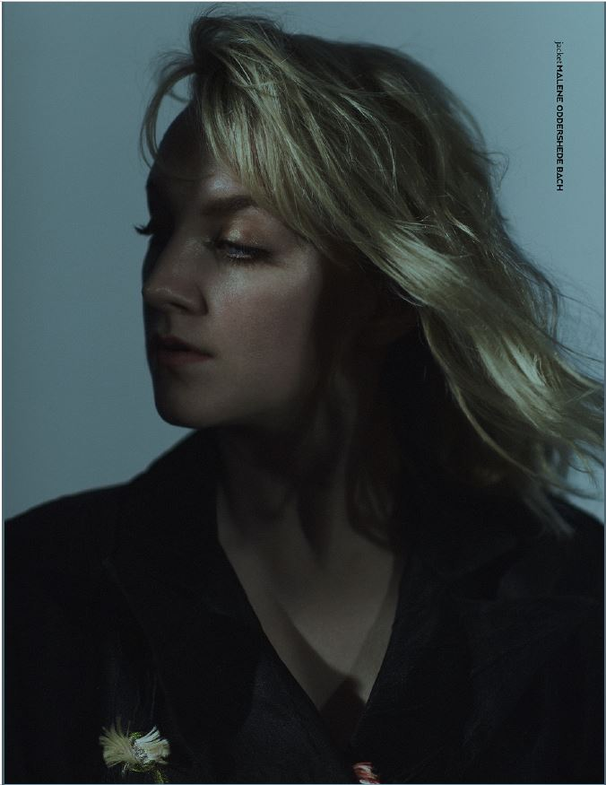 """PIBE Magazine"" – Evanna Lynch in a dark jacket"