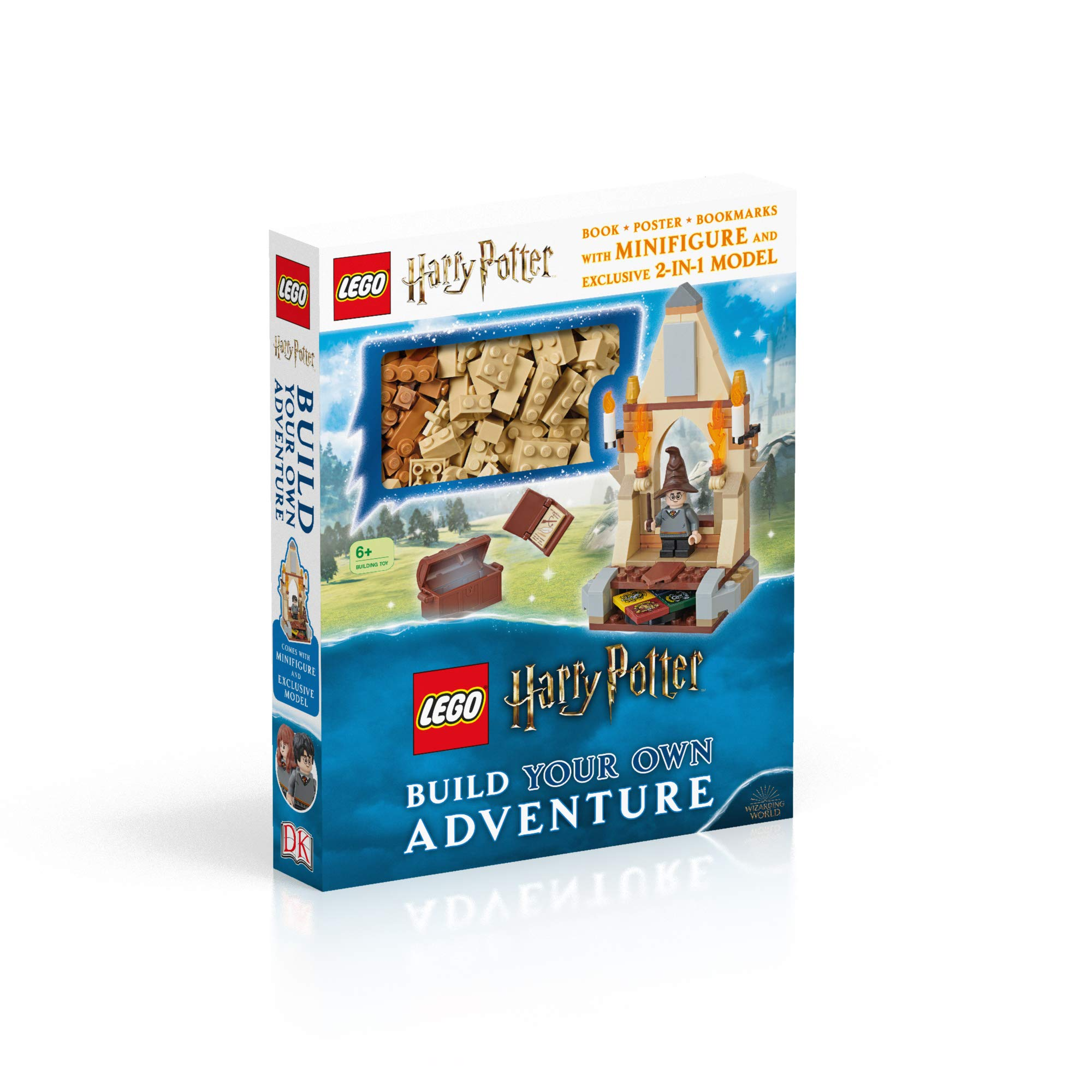 LEGO Harry Potter Build Your Own Adventure book will be available on July 4, 2019.