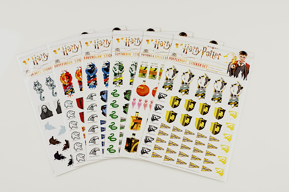 ConQuest HP all House Sticker Sets