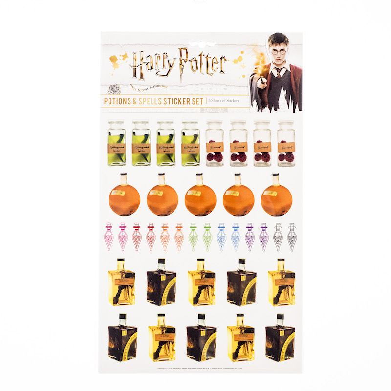 ConQuest HP Potions and Spells Sticker Set packaging, front