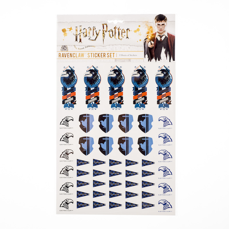 ConQuest HP Ravenclaw House Sticker Set packaging, front