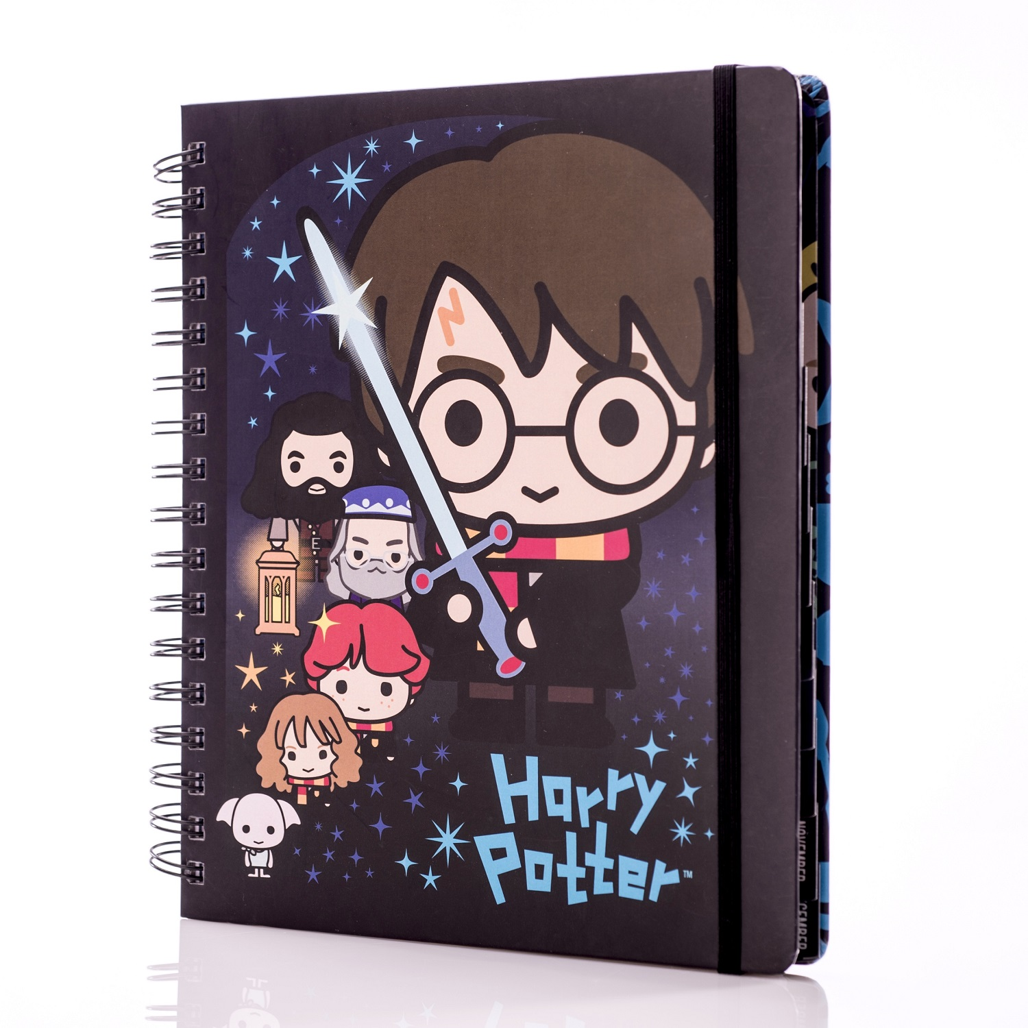 ConQuest Harry Potter Charms Weekly Planner, front
