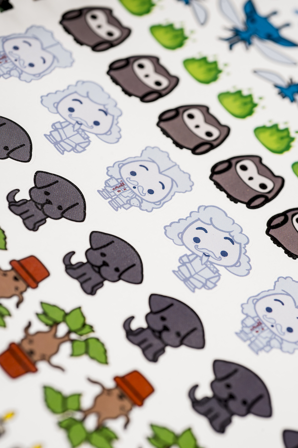 ConQuest Harry Potter Charms cute close-up stickers